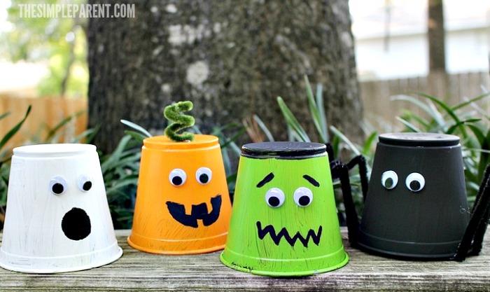 34 Creepy Halloween Cups