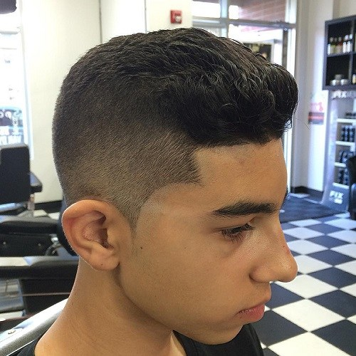 34 quiff haircut for teenage guys