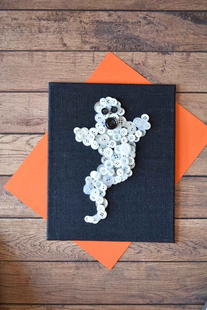35 Ghost Button Art