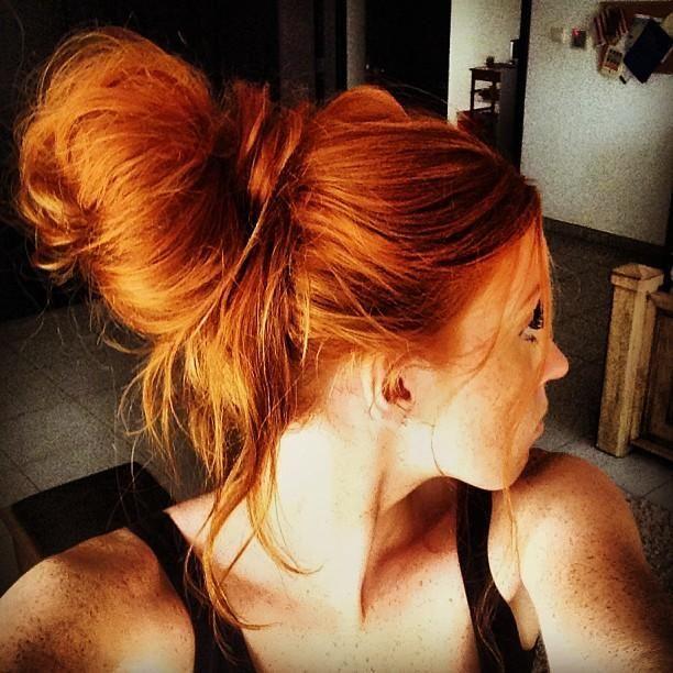36 hot copper hair