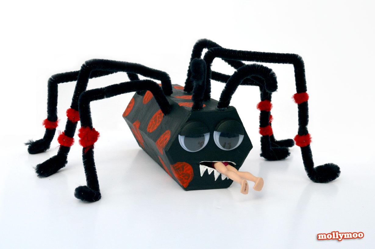 38 Cardboard Tube Spider