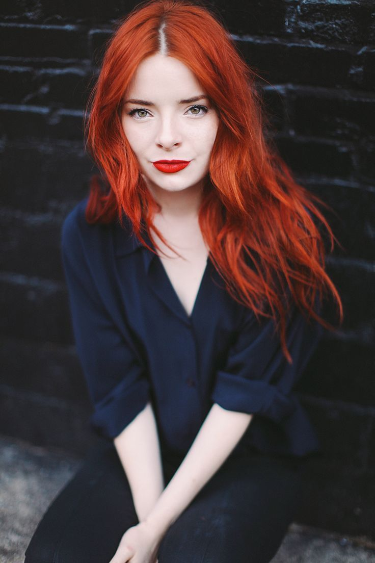 39 bright copper red hair