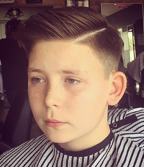 39 trendy boys haircut with a side part