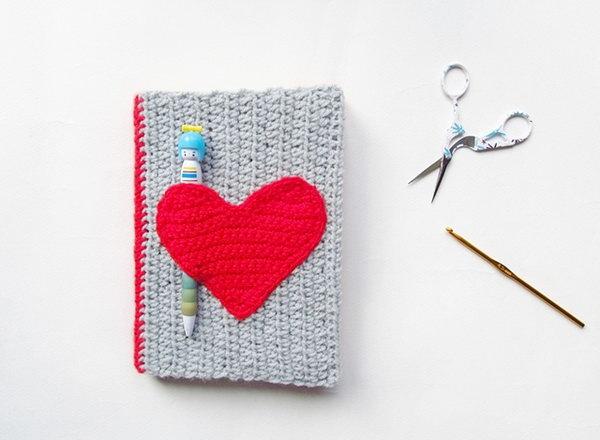 4 Crochet Notebook Sweater