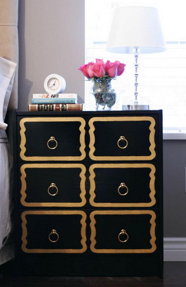 4 DIY Dorothy Draper Dresser
