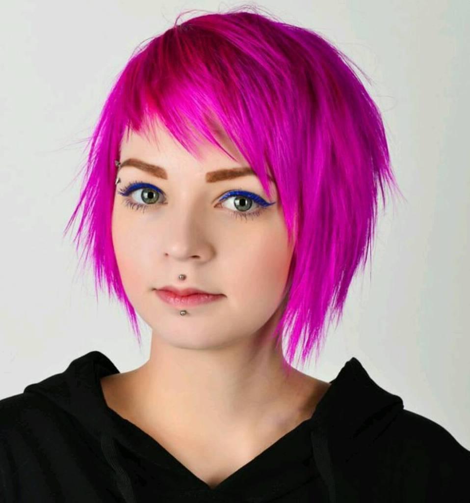 4 chinlength shag haircut