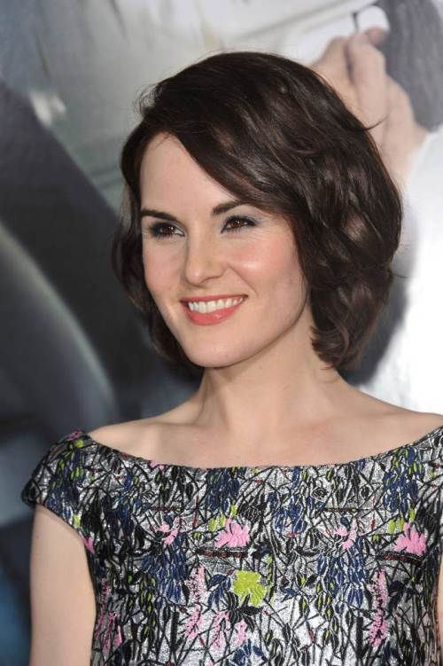 42 michelle dockery aristocratic dark hot chocolate shade of brown hair