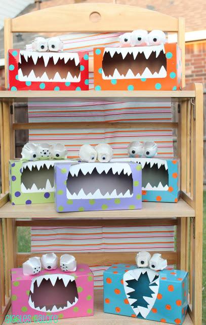 44 Tissue Box Monsters