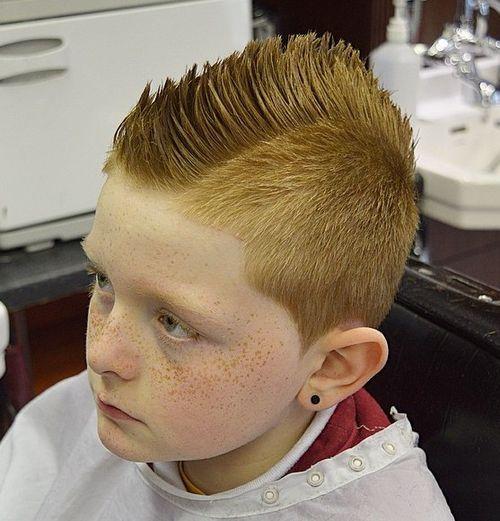 45 cool fauxhawk haircut
