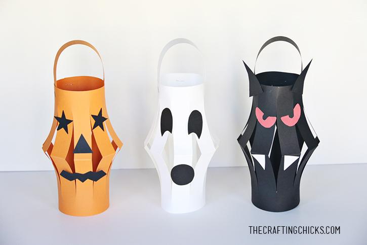 46 Halloween Paper Lanterns