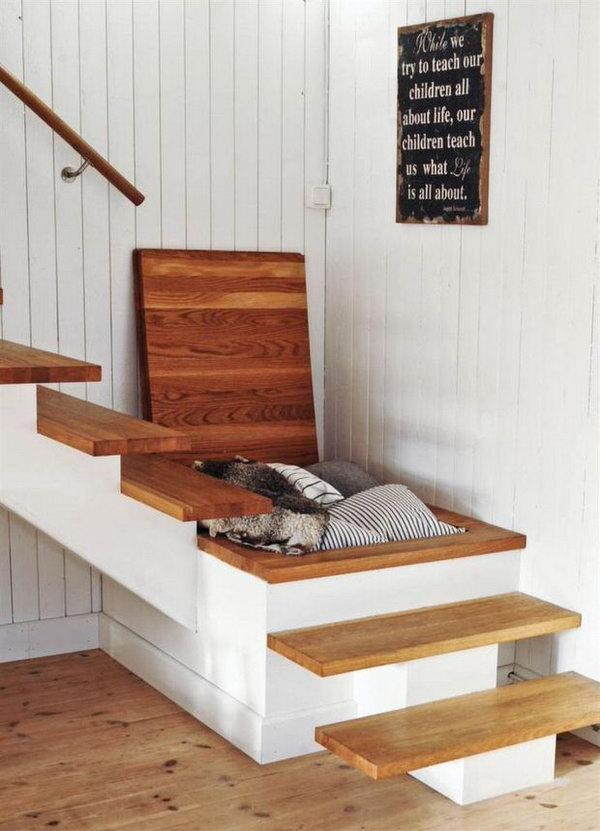 5  Another Creative Hidden Stair Storage Solution