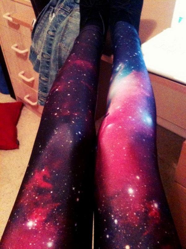 5 DIY Galaxy Leggings