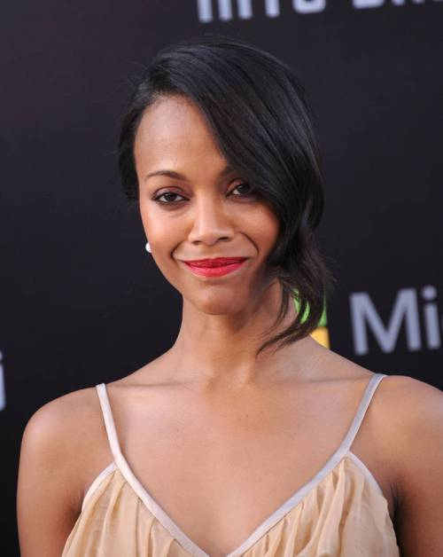 50 splendid brown black hair hue of zoe saldana