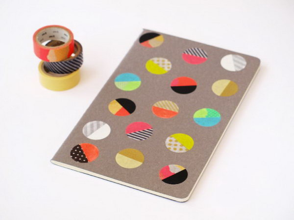 6 Colorful Dot Notebook