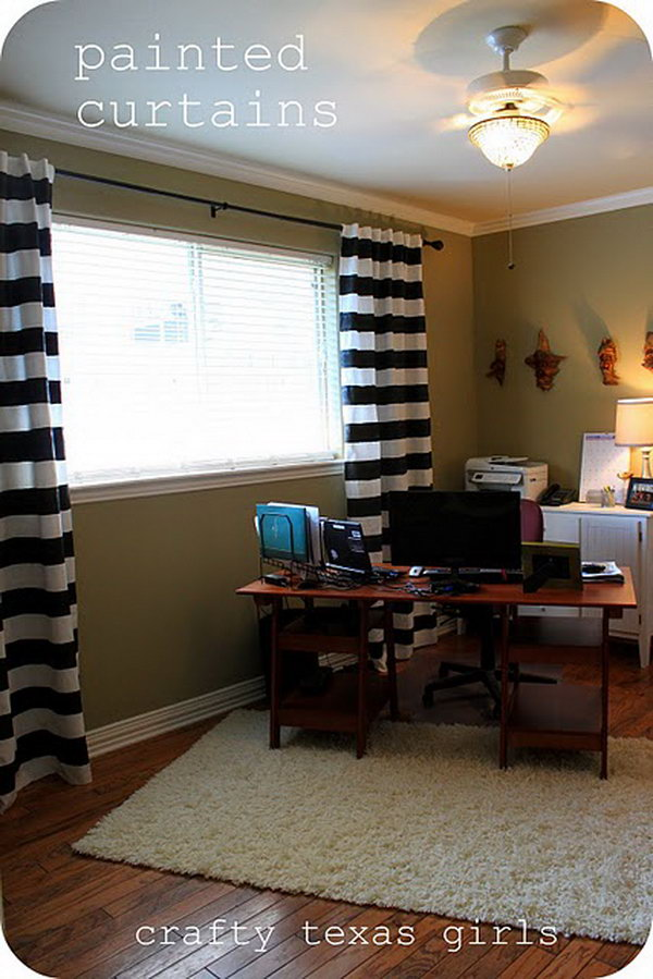 7 Bold Striped Curtains