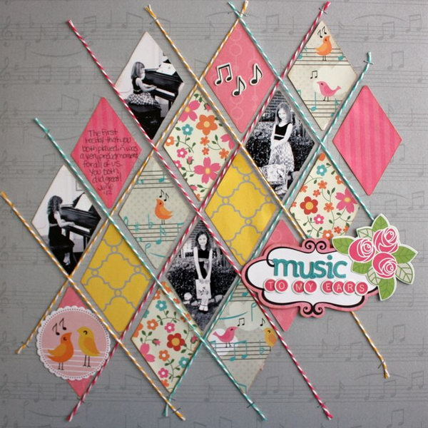 31 Creative and Romantic Scrapbooking Designs and Ideas ...