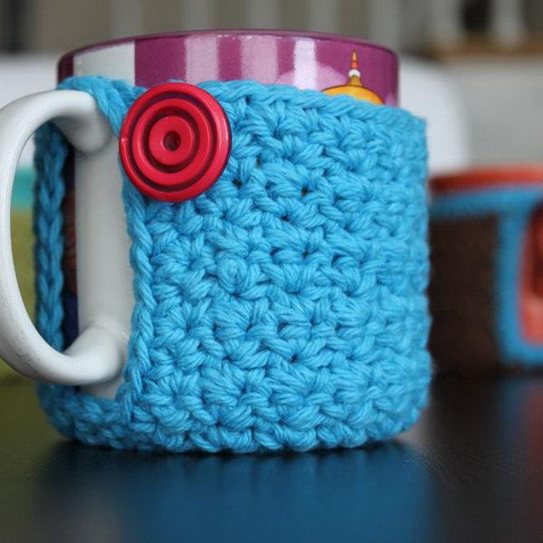 8 Crochet Mug Cozy