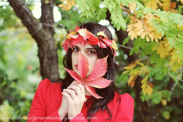 8 DIY Fall Crown with Leaves and Flowers for Kids and Beauty