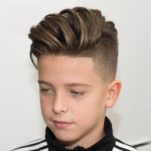 8 long top undercut for boys