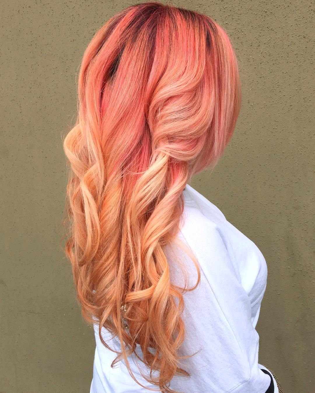 Buy Hair Ombre pink and blonde pictures trends