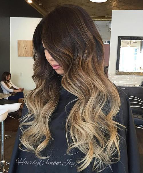 14 brown blonde ombre for dark brown hair
