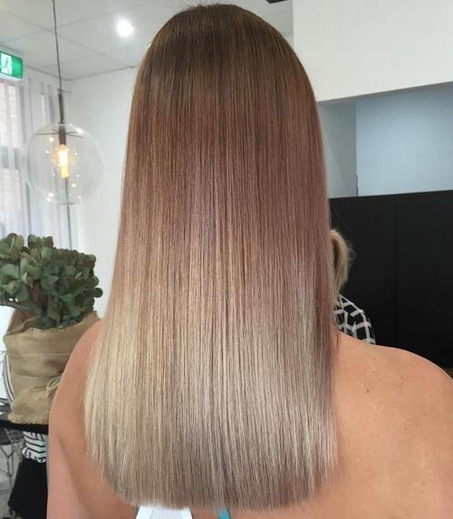 15 straight brown to blonde ombre hair