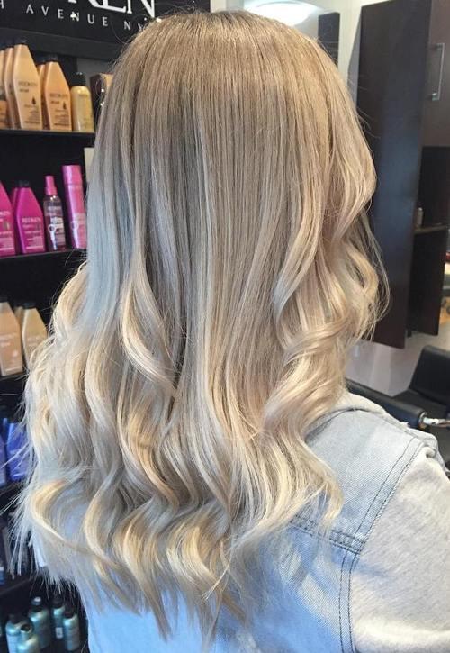 19 light blonde ombre hair