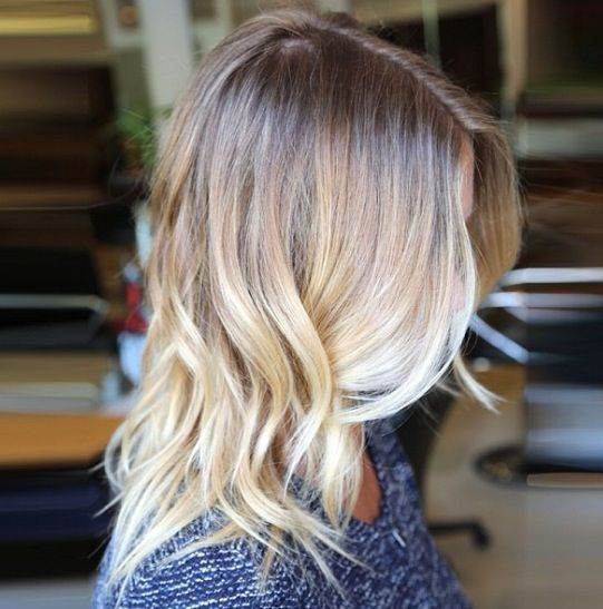 21 blonde ombre
