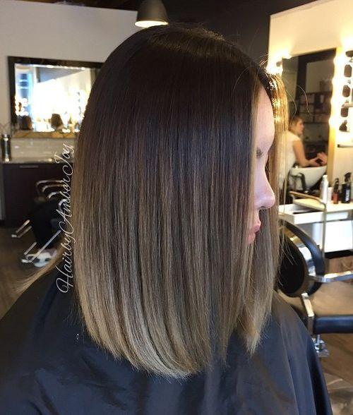 7 dark brown ombre hair