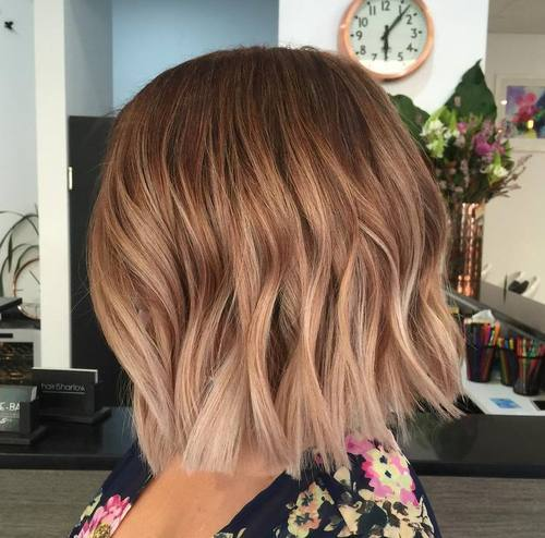 1 light brown ombre bob