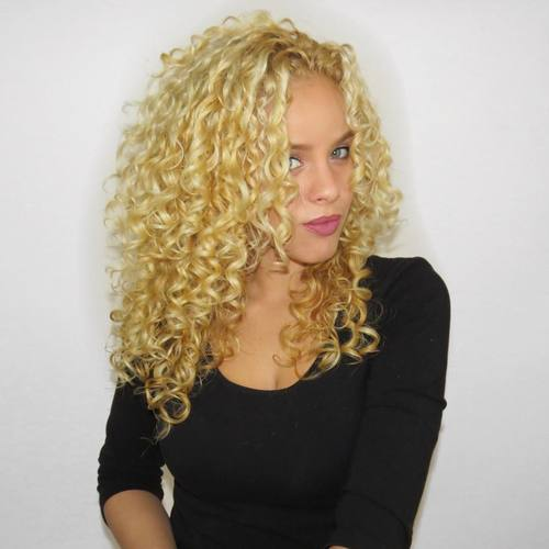 15 blonde perm hairstyle