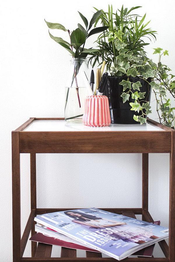 19 IKEA Bedside Table Hack