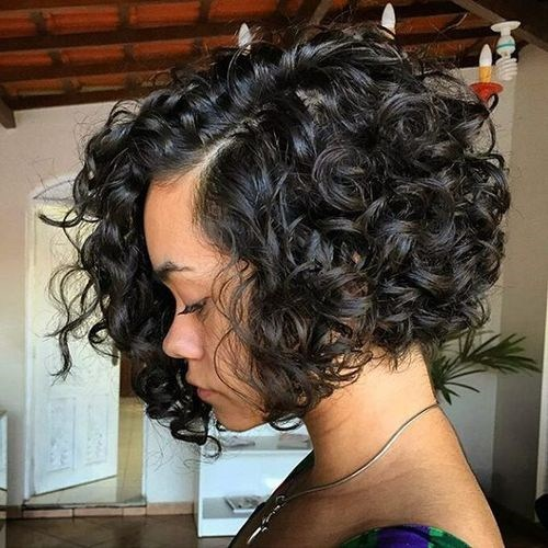 2 chinlength curly bob hairstyle