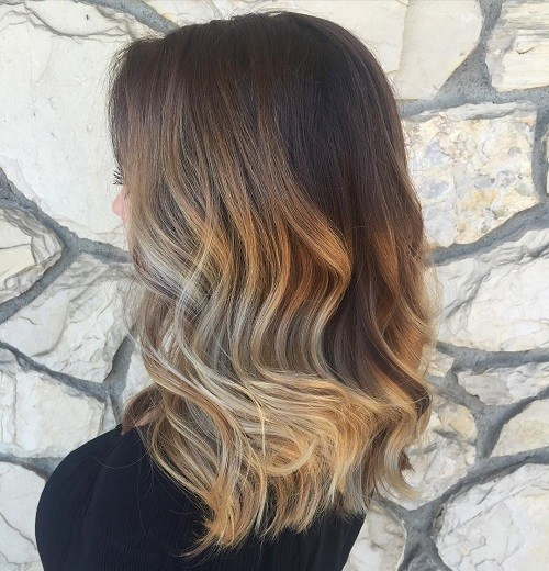 3 blonde balayage for brown hair