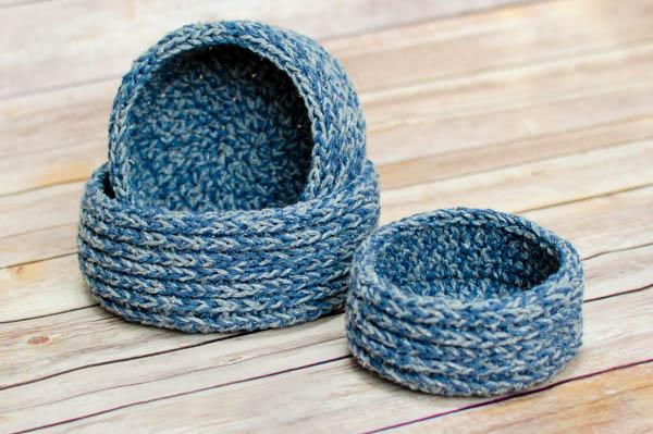 33 Chunky Nesting Baskets