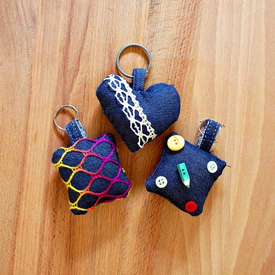 34 Create these springy key chains