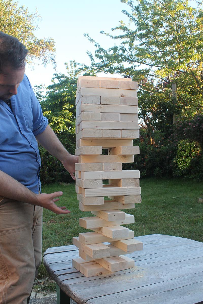 36 DIY Giant Jenga