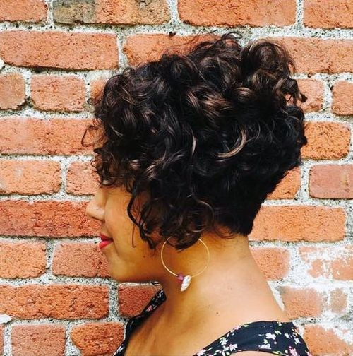 38 short curly hairstyle
