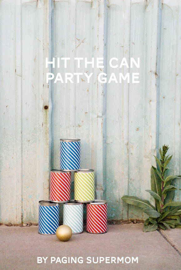 42 Hit the Can Party Game