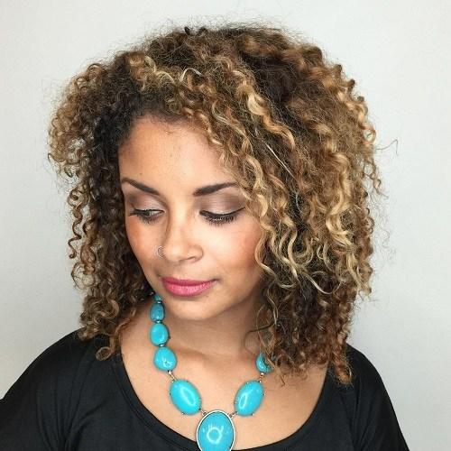 6 medium length perm hairstyle
