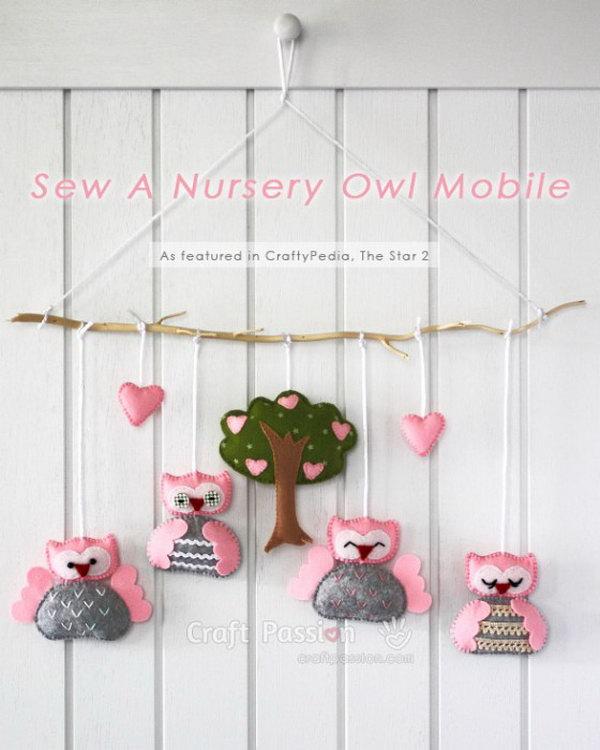 1 DIY Owl Mobile