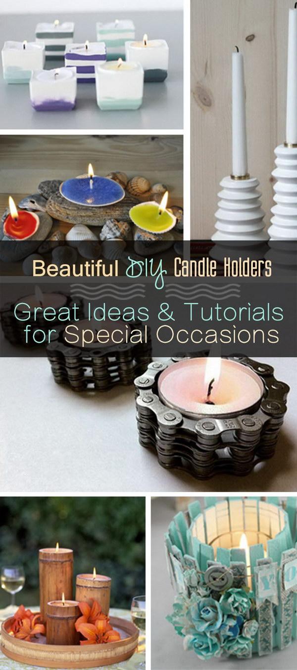 1 Seashell Candle Holder