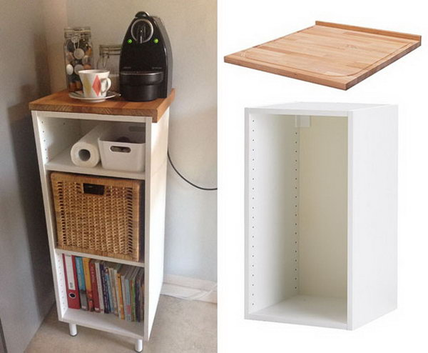 1 Small Kitchen Island or Workspace