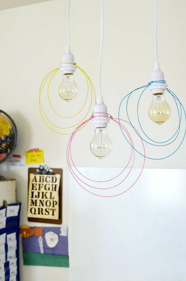 1 Wire Pendant Light