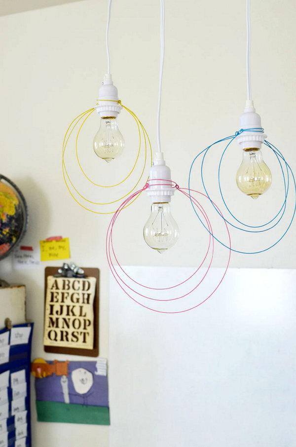 1 Wire Pendant Light