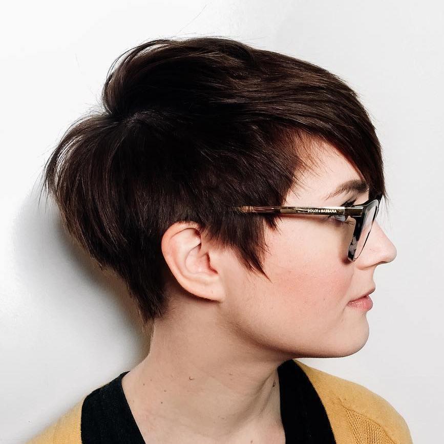 1 edgy pixie haircut