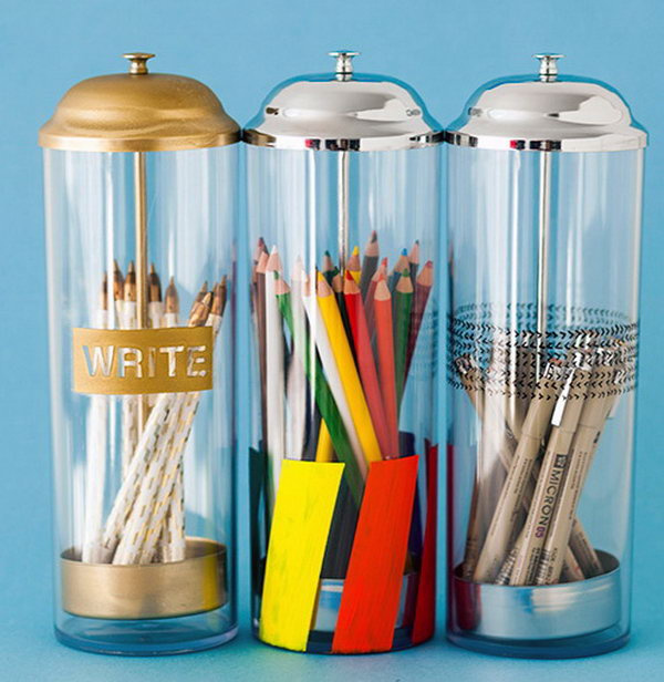 10  Pop-Up Pencil Holders