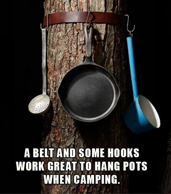 11 Creative way to Hang Your Pots and Pans
