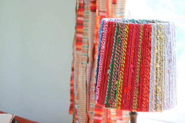 11 DIY Rope Lampshade