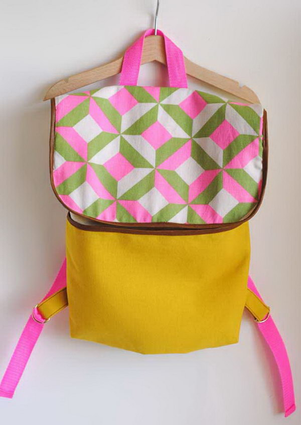 11 Neon Backpack